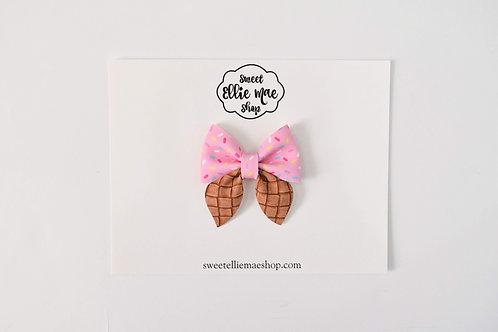 Strawberry Cone | Mini Sailor Bows