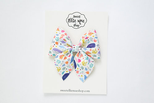 Under The Sea | Large Sailor Bow
