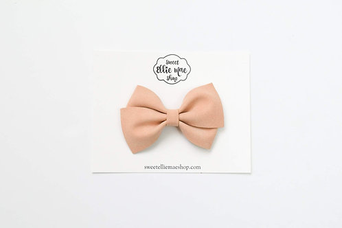 Sepia Shimmer | Thick Lou Bow