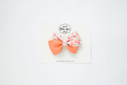 Just Peachy | Thick Lou Bow