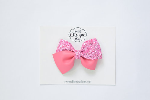 Pink Twist | Thick Lou Bow