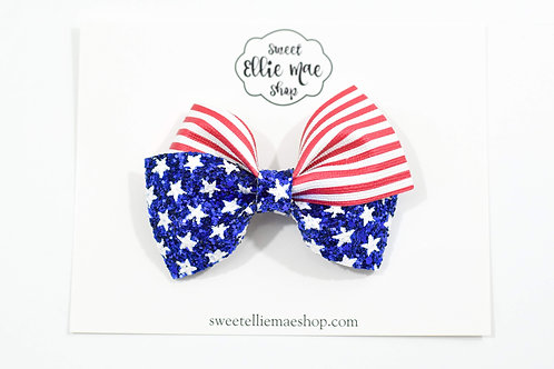 American Flag | Thick Lou Bow