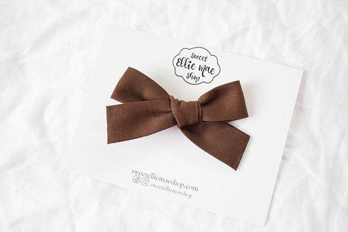 Cocoa | Hand-tied Gracie Bow