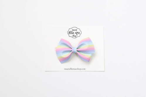 Pastel Rainbow | Thick Lou Bow