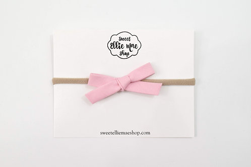 Pretty in Pink | Hand-tied Emma Bows
