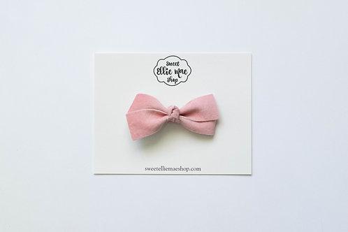 Pink Velvet | Little Lou Bow