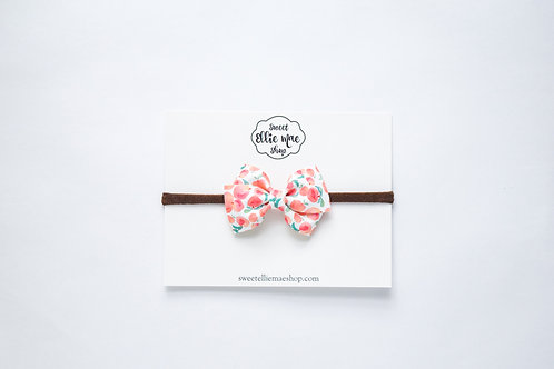 Just Peachy | Mini Lou Bow
