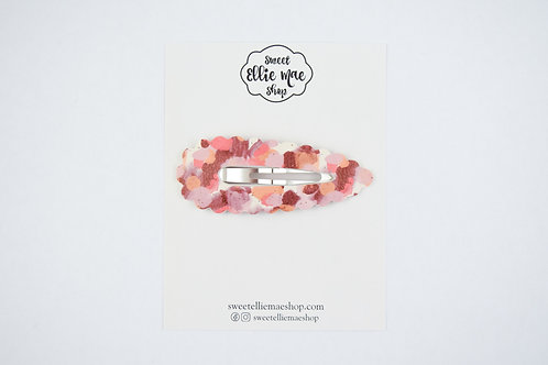 Fall Colors | XL Scalloped Snap Clip