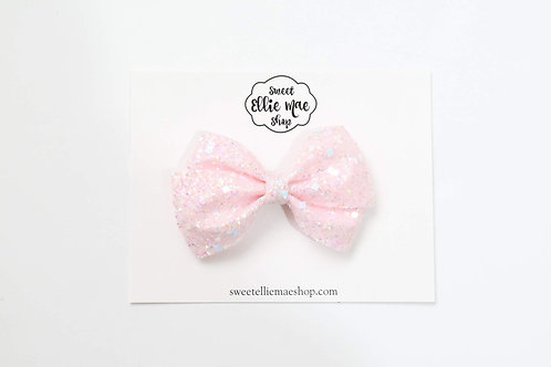 Light Pink Party Confetti | Thick Lou Bow