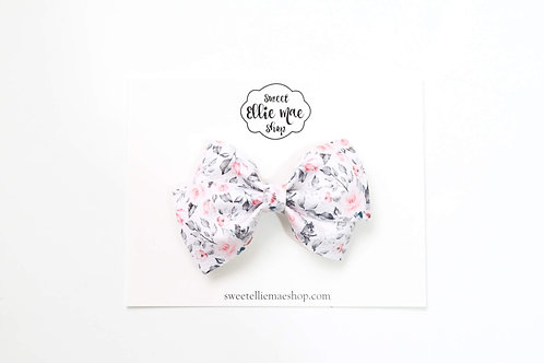 Muted Roses | Thick Lou Bow