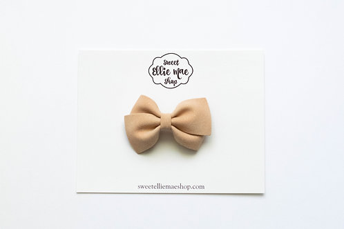 Golden Beige  | Mini Lou Bow