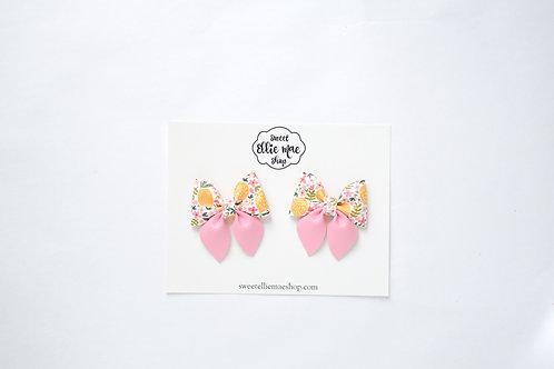 Lemony Sweet | Mini Sailor Bows