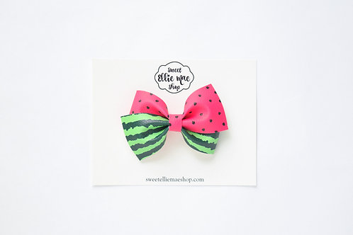 Watermelon   Thick Lou Bow