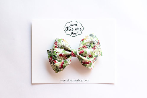 Holly Berry | Thick, Mini or Little Lou Bows