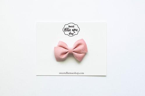 Pink Velvet | Mini Lou Bow
