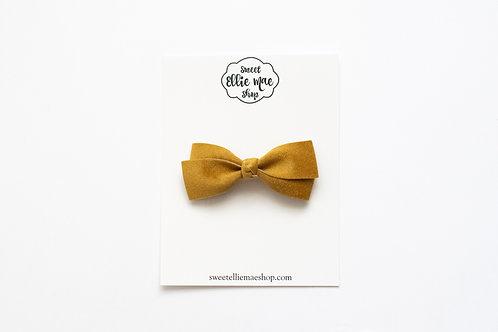Butterscotch Velvet | Little Lou Bow