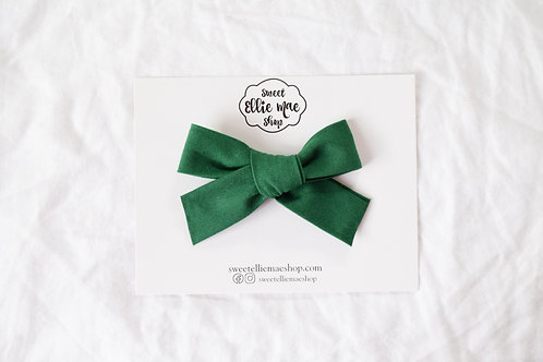 Forest Green | Hand-tied Gracie Bow