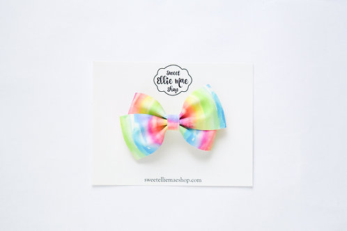 Melted Rainbow | Thick Lou Bow
