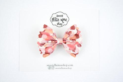 Fall Colors  | Mini Scalloped Ellie Bow