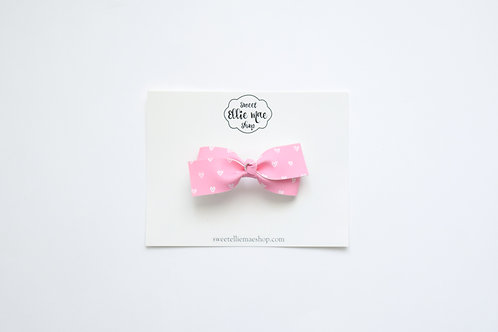 Bubble Gum Hearts | Little Lou Bow