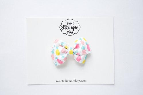 Cutesy Pineapples   Mini Lou Bow
