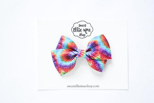 Tie-Dye | Thick Lou Bow