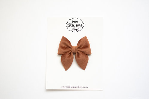 Spice Velvet | Midi Sailor Bow