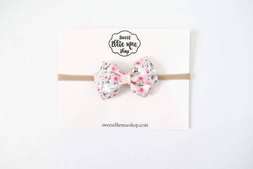 Simple Elegance Floral | Mini Lou Bow
