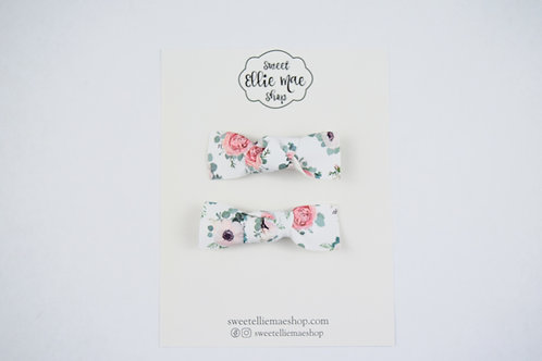 Floral Elegance | Knotted Bow