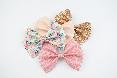 Approved Custom | Scalloped Ellie Bow