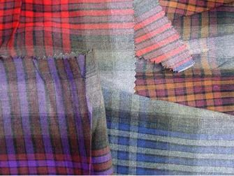 Melange Viscose Yarns and Fabrics