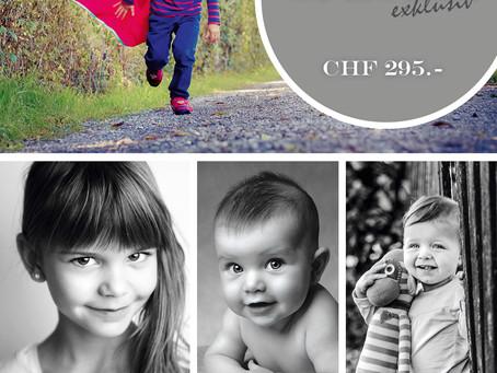 Kinder Special   1 Jahr  4 mal Fotospass