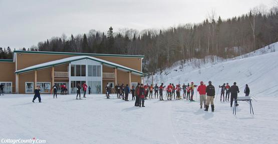 Compétition de ski