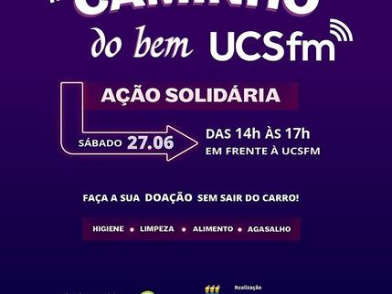 VERO DELLAUDO APOIA A AÇÃO SOLIDÁRIA CAMINHO DO BEM