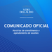 COMUNICADO OFICIAL: Atendimento de pacientes durante a epidemia de COVID-19