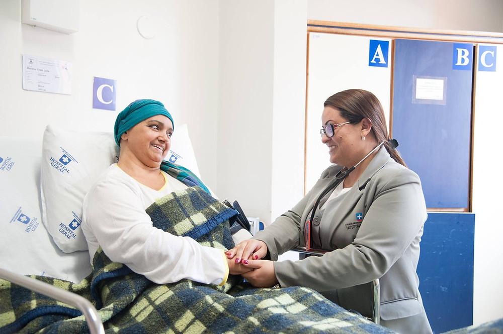 Vero Dellaudo e Hospital Geral firmam parceria