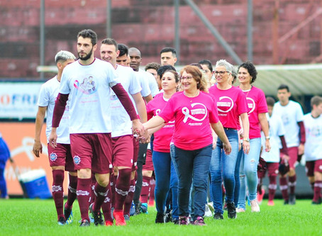 Dupla Ca-Ju adere à campanha Outubro Rosa