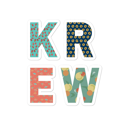 KREW Sticker