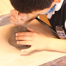 5月の子供陶芸教室