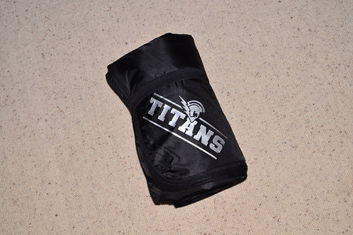 Titans Fleece and Poly Travel Blanket