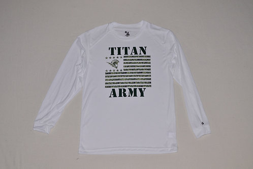 Ladies and Mens Titan Army Long Sleeve Tee