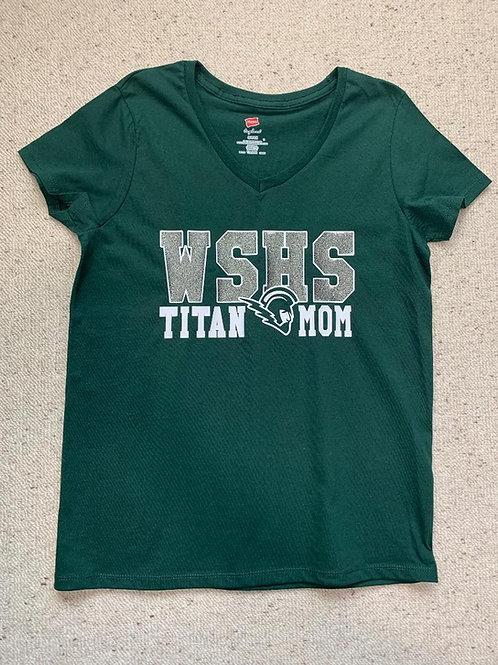 WSHS Titan Mom T-Shirt