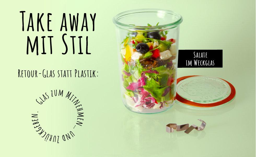 GRELLINGER Salate im Weckglas - zum mitn