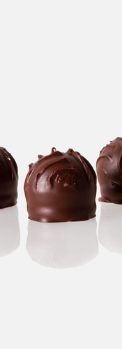 Dunkle Truffes
