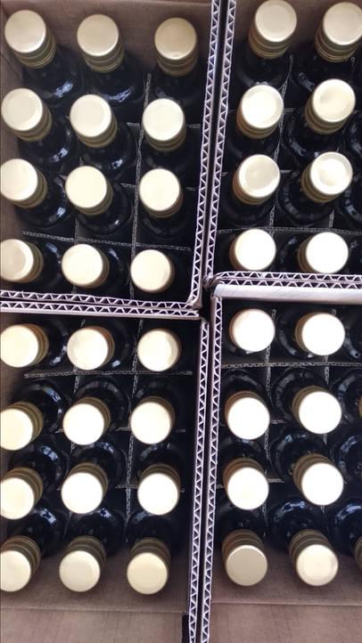 Verpackung von Balsamico Soße