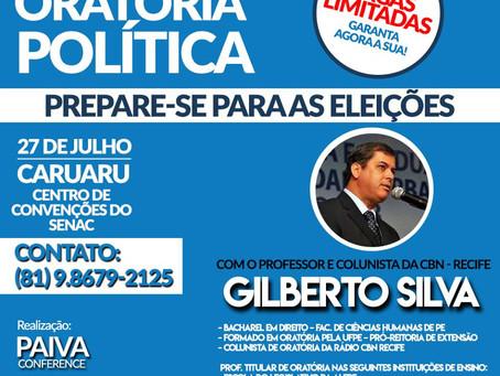 Curso de oratória prepara candidatos para eleições do próximo ano