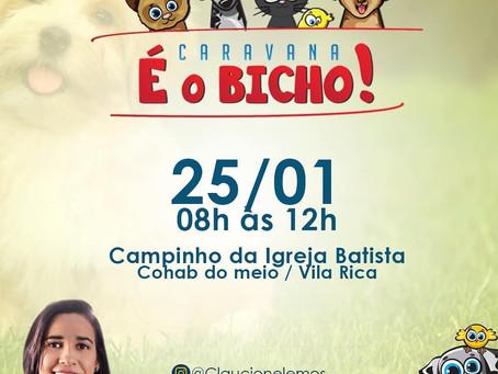 Caravana É o Bicho  em Vila Rica