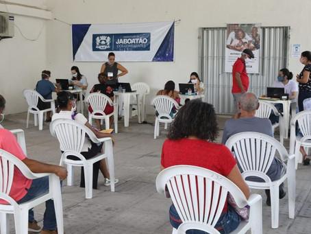 Jaboatão monta central de atendimento para pagamento de indenizações do Conjunto Muribeca