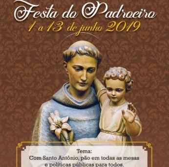 Programação da Festa de Santo Antônio é divulgada