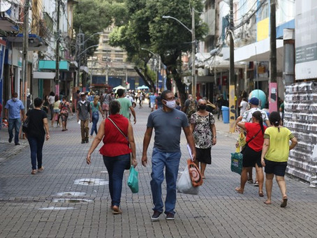 IBGE: Comércio varejista de Pernambuco tem alta de 10,3% entre maio e junho
